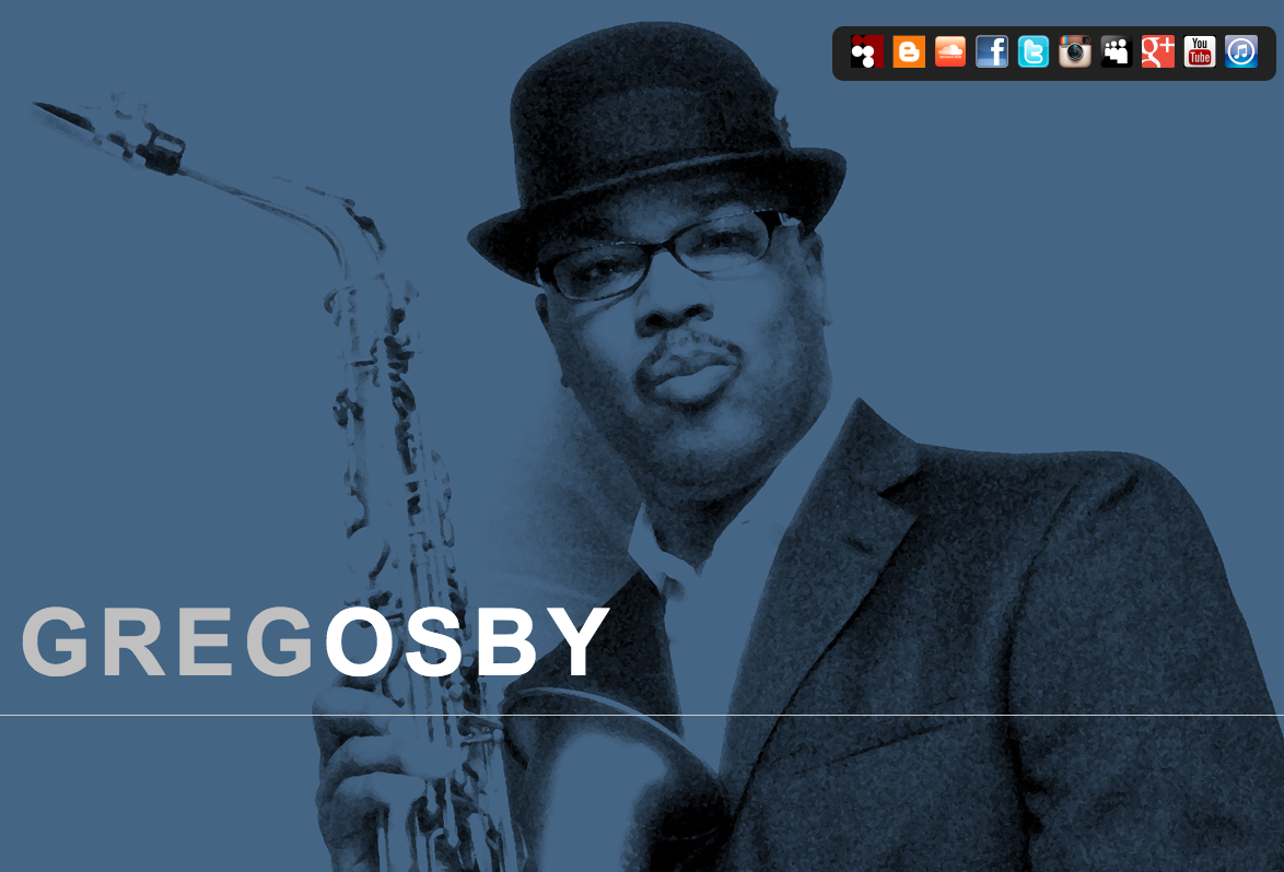 Greg Osby website by Ben Azzara